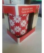 Holiday Mug 12 Fl Oz. Snowflakes - $11.76