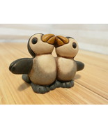 Vintage Thun Little Penguin Couple Pair Hug - $23.36