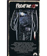 Friday the 13th (1980) VINTAGE VHS Cassette Betsy Palmer Kevin Bacon - $23.22
