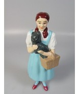 Wizard of oz Dorothy and toto doll plastic figure 1995 movie collectible... - $36.32