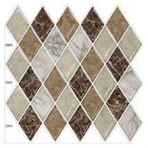 """(Ship from USA)10PCS 12""""x12"""" Sticky Tiles Waterproof Self Adhesive Peel and Stic image 2"""