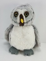 "Webkinz Grey Owl Gray Soft Plush Stuffed Animal Bird 9"" Yellow Eyes No Code - $9.89"