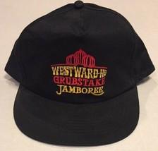 Vtg Snapback Cap Hat Westward Ho Grubstake Defunct Casino Vegas Trucker ... - $7.69
