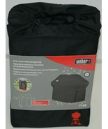 Weber 7108 Grill Cover with Storage Bag Color Black for Summit Gas Grills - $59.99