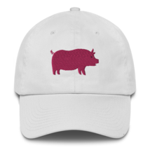 Pro pig hat / pig hat  / made in USA / Cotton Cap image 5