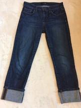Women's JOE'S Jeans Size 25 Capris Crop Cropped Pants Stretch Cuff (AA15) - $29.69