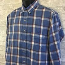 Vintage Levi's Colorgraphs Striped Shirt Men's Size Large Cotton Blend  - $24.44