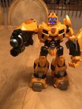 "Bumblebee Transformer 2009 Hasbro 10"" Talks and Lights Up EUC image 1"