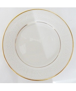Noritake Tulane 7562 Porcelain Dinner Plate White on Ivory - $29.99