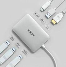 CB-C60 6 In 1 USB Type C Hub USB 3.0, HDMI Port 4K and 60W USB C PD Port image 3