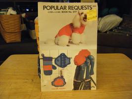 Coats & Clark Popular Requests Book 277 Knitting & Crochet Patterns - $6.92