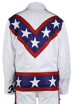 Evel Knievel Daredevil White Biker Leather Costume Jacket Pants image 3