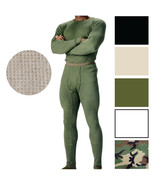 Military Thermal Knit Underwear Cold Weather Long Johns Waffle Warm Base... - $12.99+