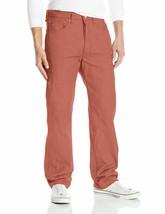 Levi's 501 Men's Original Fit Straight Leg Jeans Button Fly Marsala 501-2223 image 2