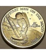 Masivo Joya UNC Marshall Islas 1989 Cinco Dollars ~ Primer Hombres En La... - $22.79