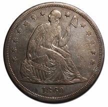 1860O Seated Silver Liberty Dollar $1 Coin Lot# MZ 4600 - $558.96
