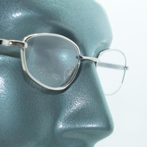Wire Rim Polished Silver Frame Reading Glasses Lightweight Small Lens +2.50 - $21.00
