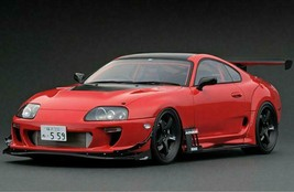 Ignition Model IG1876 Toyota Supra (JZA80) Rz ORIDO-STREET Ver.Red 1/12 - $742.49