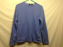 Gear For Sports 100% Cotton Lavender Colored Long Sleeve Crew Neck Pullover Sz X
