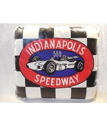 Vintage 1960's Indianapolis Speedway Indy 500 Vinyl Seat Cushion - $21.95