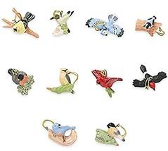 Lenox Garden Bird Miniature Tree Ornament 10 Piece Set New (No Tree) - $118.90