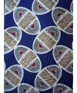 Claiborne Tie Multi Colored Patterned Oval Egg Print Mens Necktie - $3.50