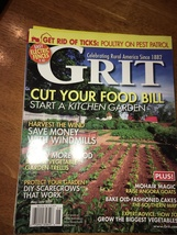 Grit Magazine May/June 2009 - Cut Your Food Bill - Start A Kitchen Garde... - $4.00
