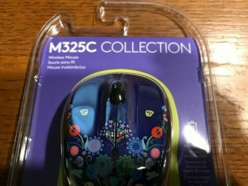 Logitech  Wireless Mouse M325C  (Nature Jewelry) Brand New Sealed