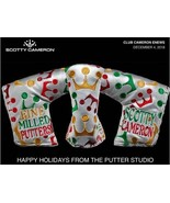 Scotty Cameron 2018 Holiday Wrapping Paper Putter Cover 2018 New Member ... - $226.21