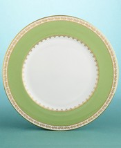 Martha Stewart Wedgwood GARLAND MOSS ACCENT PLATE MADE IN ENGLAND BONE C... - $99.90
