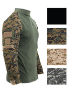 Tactical Camo Combat Shirt Airsoft Paintball Military Uniform Army Long ... - $30.99+