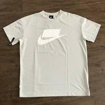 Nike Sportswear Nsw Mesh Tee Light Bone White 928627 072 Us Mens Sz 2XL - $49.49