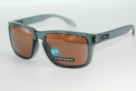 Oakley Holbrook POLARIZED Sunglasses OO9244-13 Crystal Black W/ PRIZM Br... - $89.09