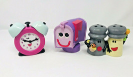 Blues Clues Tyco Toys Lot VIntage 1999 Mailbox Tickety Tock Mr Salt Mrs Pepper - $99.99