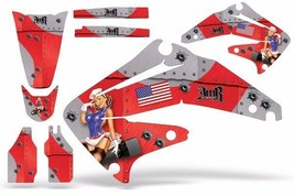 Dirt Bike Graphics Kit Decal Sticker Wrap For Honda CRF450R 2002-2004 TB... - $157.78