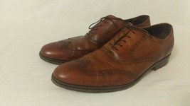 Cole Haan Shoes Air Madison British Tan Wingtip Oxford Shoes Men 13 m - $155.93