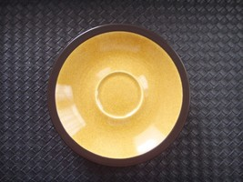 Lot of 6 Mikasa TERRA STONE Saffron E1357 Saucers Cup Plate Replacement Japan - $29.95