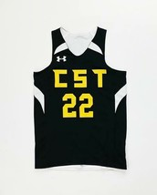 Under Armour Reversible Player Tank CST Jersey Youth Small Black White 1... - $21.77