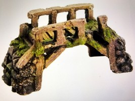Top Fin ANCIENT BRIDGE Aquarium Ornament NEW - $5.48
