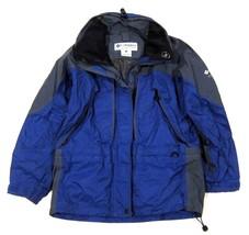 Womens Columbia Titanium Omni Tech Jacket Shell Indigo Blue Purple & Gray S - $32.57