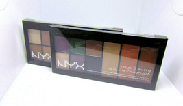 NYX THE GO-TO PALETTE Eye Shadows / Highlight / Blush Palette  Choose Shade - $7.45