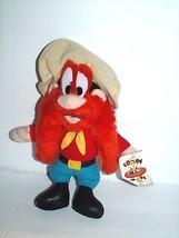 "Ace Looney Tunes Yosemite Sam Plush Doll 1996 Vintage Toy 11"" - $12.73"