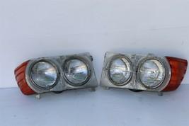 Mercedes W107 450SL 560SL USDM Headlights Headlight Assemblies Set image 1