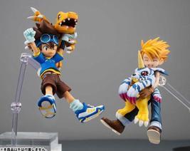 Digimon Adventure YAGAMI TAICHI & AGUMON / ISHIDA YAMATO & GABUMON PVC A... - $29.00+
