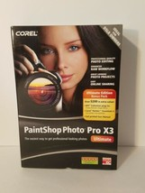 Corel Paintshop Photo Pro X3 Ultimate Edition - NEW  - $19.17