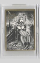 RARE~really! Lady Death Signed in holder- pulled from distribution! - $25.73
