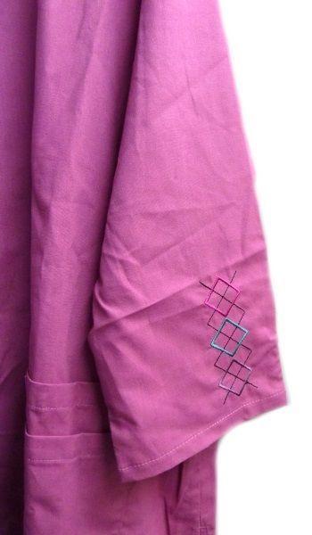 Landau Scrub Set Freesia 2XL V Neck Top Drawstrng Pants Women's Discontinued image 5