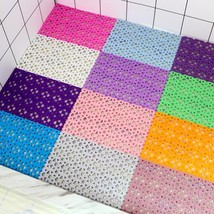 DIY Love shape free splicing bath mat waterproof mat bath room splicing ... - $2.29