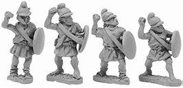 Xyston 15mm: Macedonian Pezetairo w/Javelins (8)