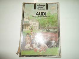 1970 72 74 1976 Clymer Audi 100LS 100 LS Series Service Repair Handbook ... - $13.81